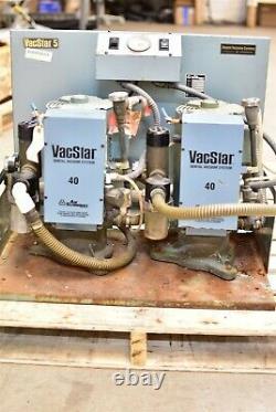 Air Techniques Vacstar 5 Dental Vacuum Pump System Suction Unit For Parts