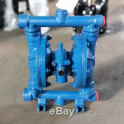 Air-operated Double Diaphragm Cast iron Pneumatic Pump Membrane Pump QBK-15