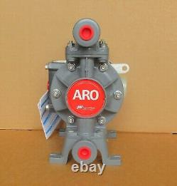 Aro 3/8 Air Diaphragm Pump PD03P-ADS-PTT Acetal Body w Teflon Diaphragm New