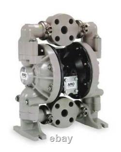 Aro 6661A3-344-C Double Diaphragm Pump, Polypropylene, Air Operated, Ptfe, 47
