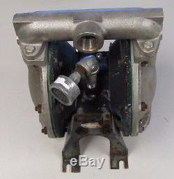 Aro Ingersoll-rand 1 Npt In & Out Stainless Flow Aluminum Air Diaphragm Pump