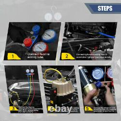 Automotive A/C Air Conditioner Vacuum Pump Dual-use Air Vacuum Pump 110V 245W