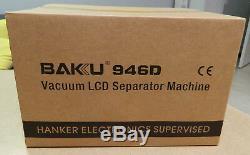 BAKU Built-in Air Vacuum Pump Separator BK-946D LCD Touch Screen Machine NEW