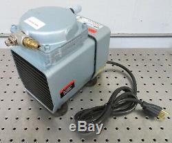 C161684 Gast DOA-P701-AA Laboratory Vacuum Pump / Air Compressor (Max. 60psi)
