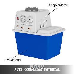 Circulating Water Vacuum Pump Air 15L Max 0.098Mpa Noise 50dB Flow 60L/min USA