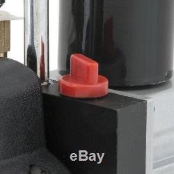 Combo 5CFM 1/2HP Air Vacuum Pump HVAC + AC Refrigeration Kit A/C Manifold Gauge