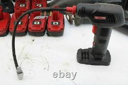 Craftsman Diehard Die Hard 19.2v 19.2 Volt Drill Impact Power Tool Set Lot Pump