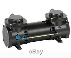 DC 12V Oilless Mini Air Pump Double-Stage Micro Brushless Diaphragm Vacuum Pump