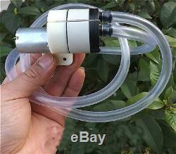 DC12-24V Self-priming Diaphragm Pump Oxygen Air Vacuum Pump Water Pump Dual Pump