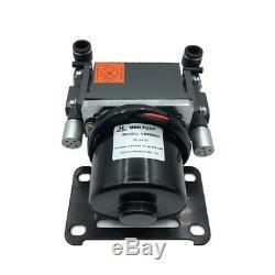Double Head 12V/24V Vacuum Pump -85Kpa Air Compressor Pump 400Kpa 25L/MIN
