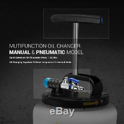 EWK 15L Pneumatic Air Manual Hand Oil Fluid Extractor Vacuum Pump