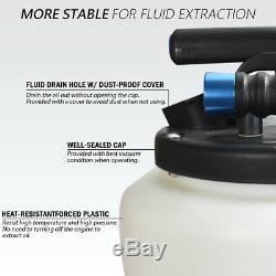 FIT TOOLS 15L Pneumatic / Air & Manual / Hand Oil & Fluid Extractor Vacuum Pump