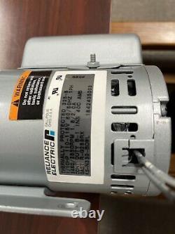 GAST 1531-101A-G288X Rotary Vane Vacuum/Air Pump Reliance 115V 1/10 HP Excellent