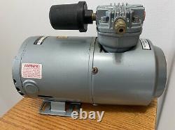 GAST 1HAB-10-M100X 1/6 HP Piston Air Compressor 115VAC 100/100 Max PSI Cont/Int