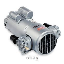 GAST 6HCA-12-M616NEX Piston Air Compressor, 1HP, 115/230V, 1Ph