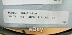 GAST DOA-P104-AA Air Compressor Vacuum Pump with 2 Gauges (115 V, 4.2 A, 60 Hz)