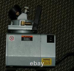 GAST DOA-P104-AA Vacuum Air Compressor Pump with regulators & Gauges
