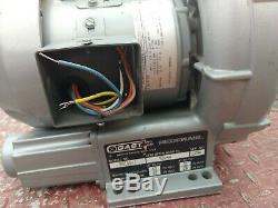 GAST R3105-1 Regenerative ring Air Blower Vacuum Pump 1.5HP 1ph 115/230v