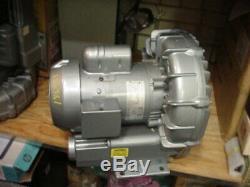GAST R4110-2 regenerative ring air blower vacuum pump 1HP 1ph 115/230v regenair