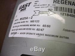 GAST R5325A-2 regenerative ring air blower vacuum 2.5HP 3ph 208-230/460 regenair