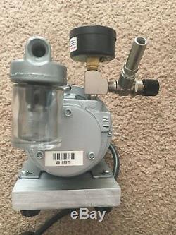 GAST Rotary Vane Air Compressor & Vacuum Pump LOT
