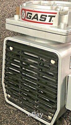 GAST Vacuum Pump Dental Lab Oven Oil-Less Air Compressor Model DAA-V163A-EB