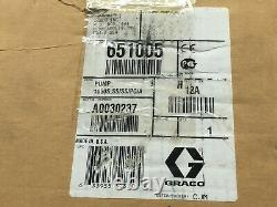 GRACO 651005 HUSKY 1050 Series 1 SS Air-Operated Diaphragm Pump NEW