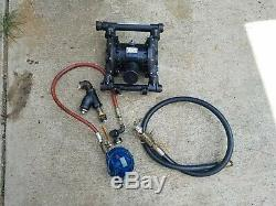GRACO Husky 1040 Air Pneumatic Operated Diaphragm Pump 42-159 gpm