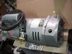 Gast 0823 3/4hp oil-less Air Vacuum Pump pond septic aerator 115/230v 1ph