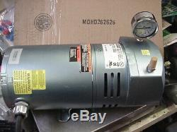 Gast 1/4hp 115/230v oil-less rotary pump air pond septic vacuum grainer 4F740A