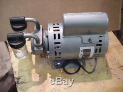 Gast 1531 1/10hp oil-less rotary Air Vacuum Pump pond septic aerator 220-240v