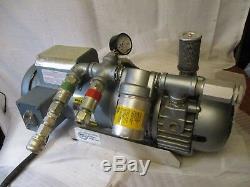 Gast 2067-101 Vacuum Pump 1 ½ HP /bullard Edp-2-te-a Free Air Pump/ Baldor Motor