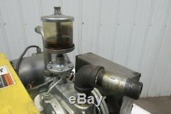 Gast 3040-V29B Rotary Vane Air Compressor/Vacuum Pump 2 HP 40 CFM 208-230/460V