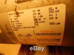 Gast 5HCD-10-M5226AX 3/4 HP Piston Air Compressor/Vacuum Pump oiless 110v