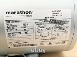Gast 5HCD-43-M550NGX Piston Air Pump, 3/4HP, 115/208-230V, 1PH