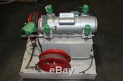 Gast 7hdd-10-m750x Piston Air Compressor Adk Pressure Equipment System