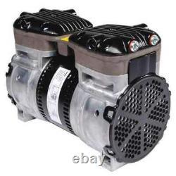 Gast 87R555-V101-N470x Piston Air Compressor, 1/2 Hp, 115/230Vac