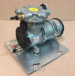Gast LOA-P103-HD Oilless Piston Pressure Pump Air Compressor 220-230V(unit3)
