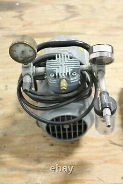 Gast Model 1hab-25b-m100x Air / Vacuum Pump 100 Psig Max V 115