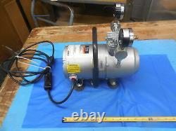 Gast Model 1hab-25b-m100x Air / Vacuum Pump 100 Psig Max V 115 HP 1/6 Lr37697