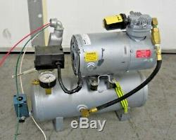 Gast Model 2HAH-11T-M200X Vacuum Pump/ Piston Air Compressor