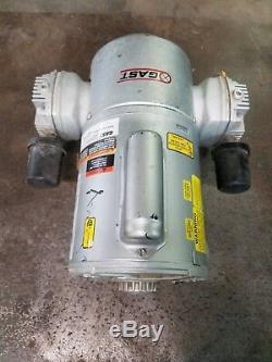 Gast Piston Air Compressor/Vacuum Pump 115/230VAC, 1/2 HP, 50/50 MAX PSI