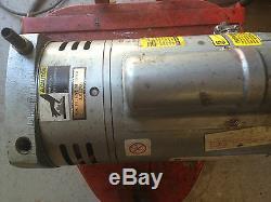 Gast Vacuum / Air Pump Model P364-q627dax Also Used On Airtech Powder Spray