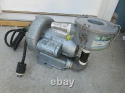 Gast regenair r1102 regenerative air blower vacuum with filter