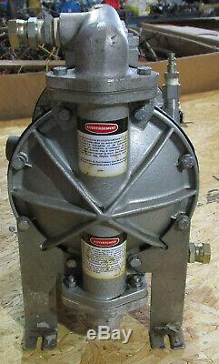 Graco 36645 Midas Double Diaphragm Pump Aluminum Air Operated Tested Works i6