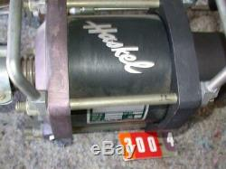 Haskel AAD-30 Air Pressure Amplifier Max Drive 150PSI with extra piping attachment