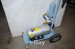 Hi-q Mobile Air Sampler & Gast 1/4hp Vacuum Pump # 0523-102q-g588dx 115vac New