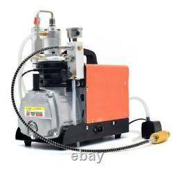 High Pressure Electric PCP Air Compressor 30MPa 4500PSI Scuba Diving Pump 220V