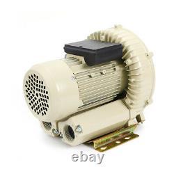 High Pressure Industrial Air Pump Blower 110V 370W Centrifugal Cycle Design