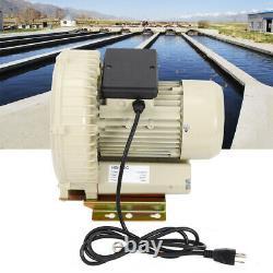 High Pressure Industrial Air Pump Blower for Aquarium Pond Fish Tanks 370w 12KPa